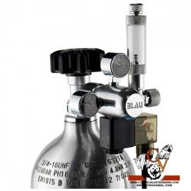 Botella CO2 + manoreductor grande (3 L)
