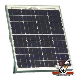 Panel solar con soporte