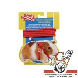 Correa ajustable para roedor Living World