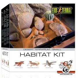 Terrario kit Desierto pequeño (27L)