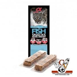ALPHA SPIRIT snack de pescado gato